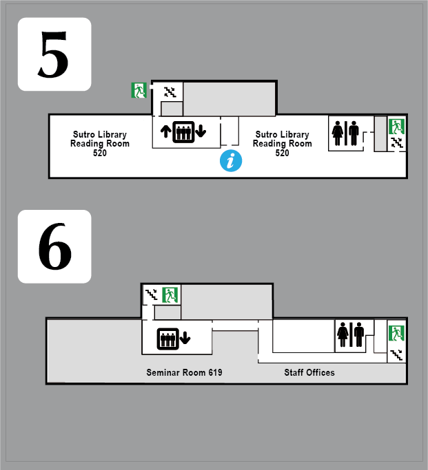 Fifth and Sixth Floor Map img