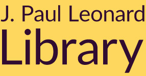 graphic: Leonard Library logo
