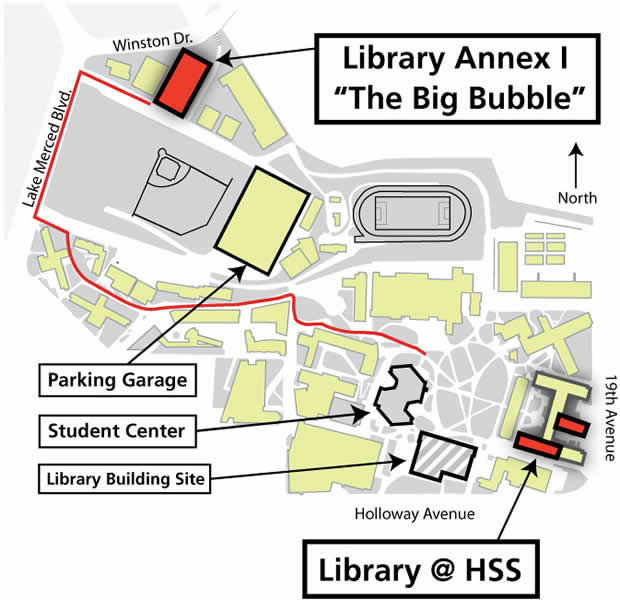 Pre-2012 Library Locations