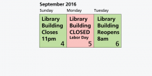 Labor Day Hours img